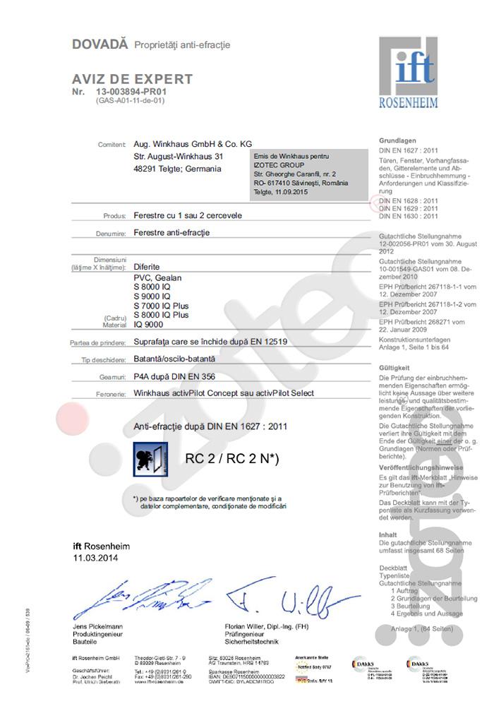 certificari08 Certificazioni
