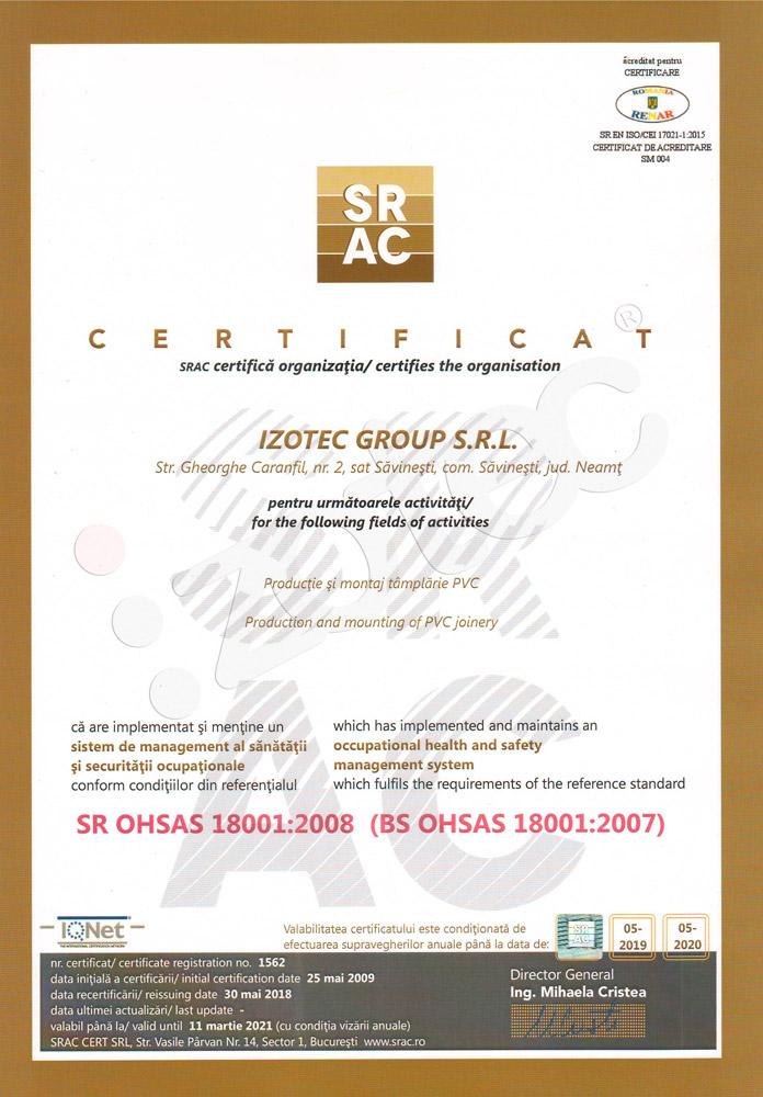 certificat-14-bsohsas18001 Certificazioni