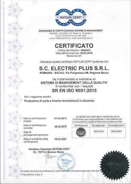 iso-9001-alumniu-it Certificazioni